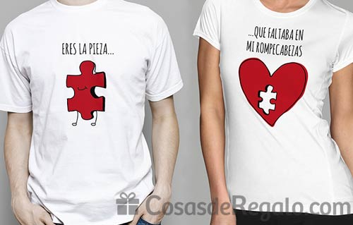 Camisetas originales para San Valentín, luce tu amor allá donde vayas