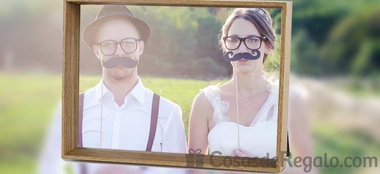 Te preparamos los recuerdos de boda: regala un marco con vuestra foto