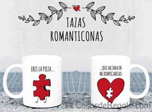 C mo sorprender por san valent n tazas originales dobles for Regalos muy romanticos