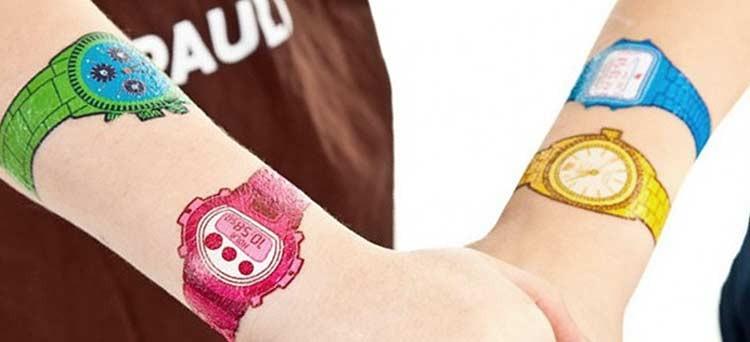 Relojes calcamonía, perfectos para no preocuparse del cambio de hora