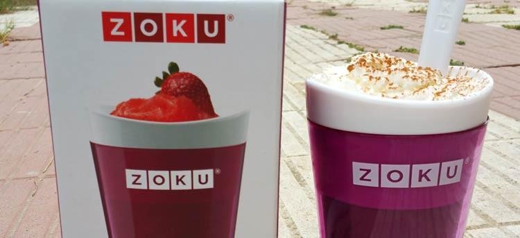 Cómo hacer un café frappé o frapuchino con el vaso de granizados de Zoku