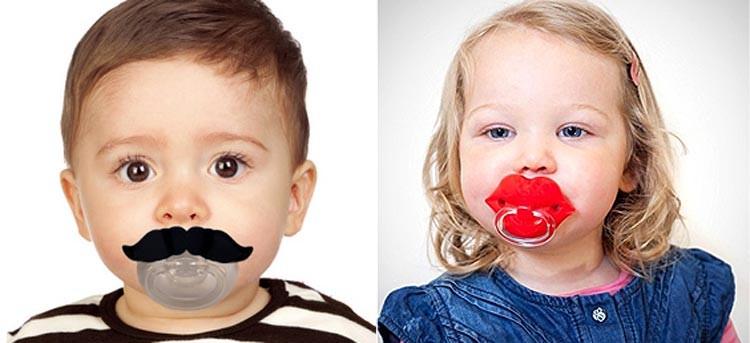 Tres chupetes para bebés que te harán sonreír