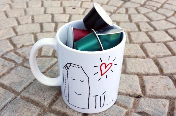 Usos alternativos de una taza
