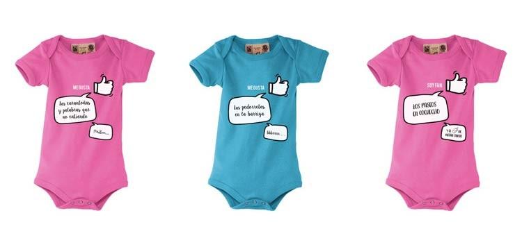 Nuevos bodys para bebés