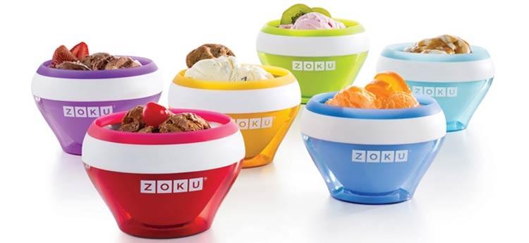 La heladera no es un aparato complicado. ¡Viva Zoku!