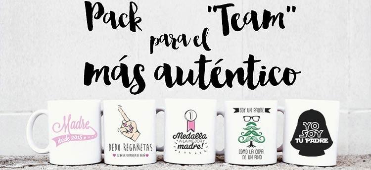 Pack de tazas personalizadas para padres: elige cómo será su mañana