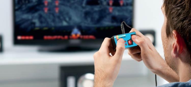 Mini consola de juegos retro, partidas como las de antaño
