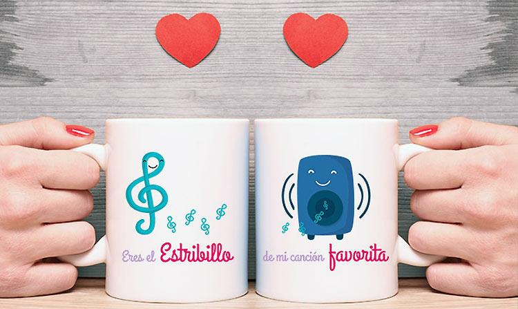 Nuevas tazas personalizadas especiales para San Valentín