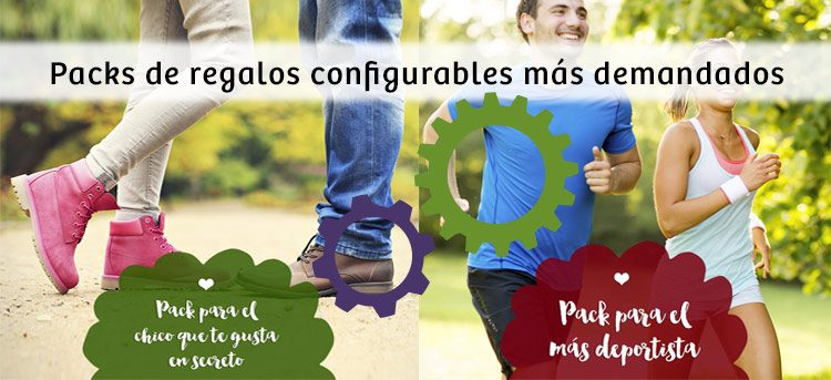 packs de regalos configurables