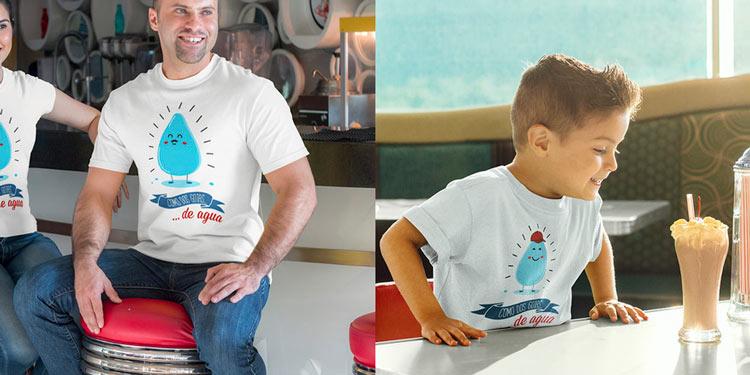 Estas camisetas dobles son el mejor regalo en familia