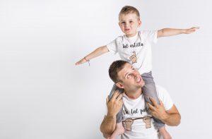 camiseta padre hijo de tal palo tal astilla