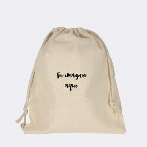 Bolsa merienda personalizada - Bolsas de tela personalizadas