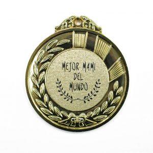 Medalla mejor mami del mundo