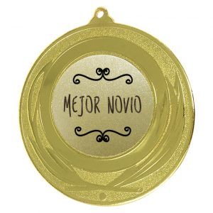Medalla Mejor novio