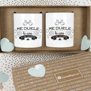 Pack de tazas doble Guapos