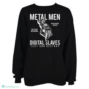 Sudadera Metal men para hombre
