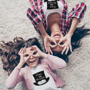 Camisetas para madres e hijos